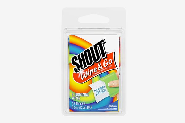 Shout Wipe & Go Instant Stain Remover Wipes