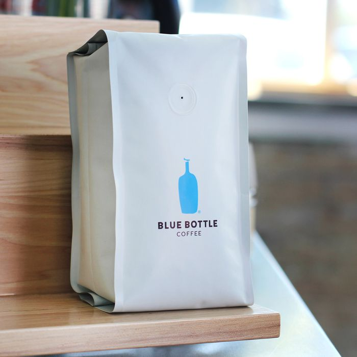 Minimalist new packaging, another Blue Bottle hallmark.