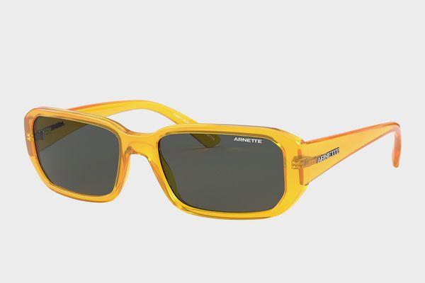 Arnette Grey-Black and Yellow Sunglasses
