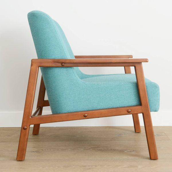 Novogratz Hudson Lounge Chair, Ocean Woven