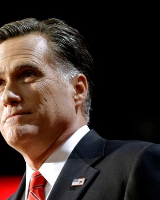FILE - In this Aug. 30, 2012 file photo, Republican presidential candidate Mitt Romney pauses at the Republican National Convention in Tampa, Fla. U.S. troops are still in Afghanistan, nearly 11 years after they invaded.