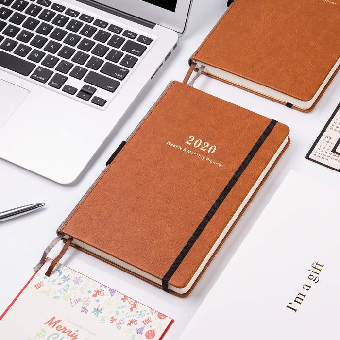 2020 Pocket Planner//Calendar Weekly Monthly Pocket Planner with 12 Month Tabs