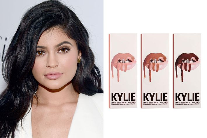 Kylie Jenner and her lip kit.
