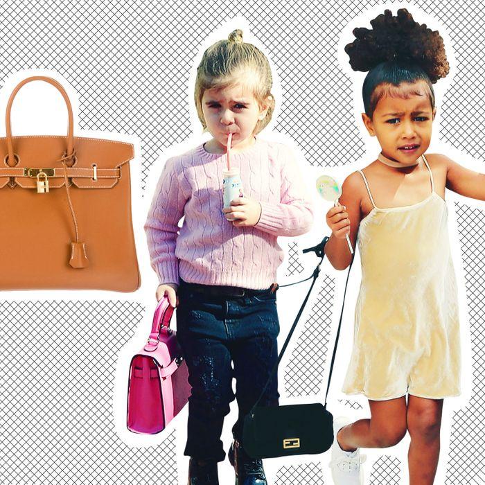 7dadb00867c0 Kim Kardashian Bought Her Family Little Louis Vuitton Bags