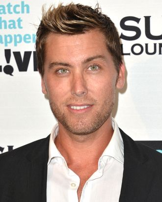 Singer Lance Bass arrives to Bravo Media's celebration of the book release of Andy Cohen's