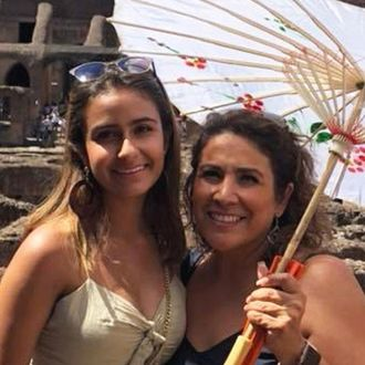 Sylvia Acosta and daughter.