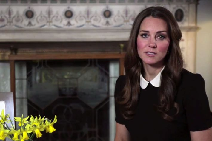 Kate Middleton's broadcast.
