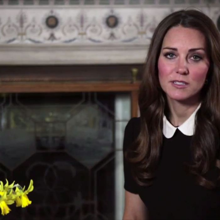 Kate Middleton's broadcast.