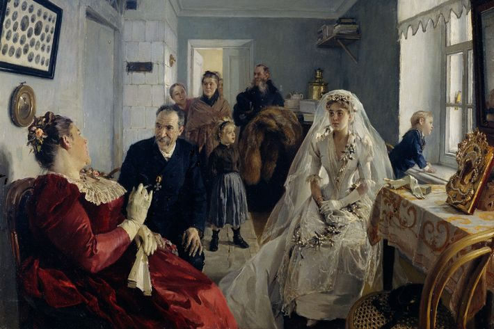 """Before the Wedding,"" by Illarion Mikhailovich Pryanishnikov"