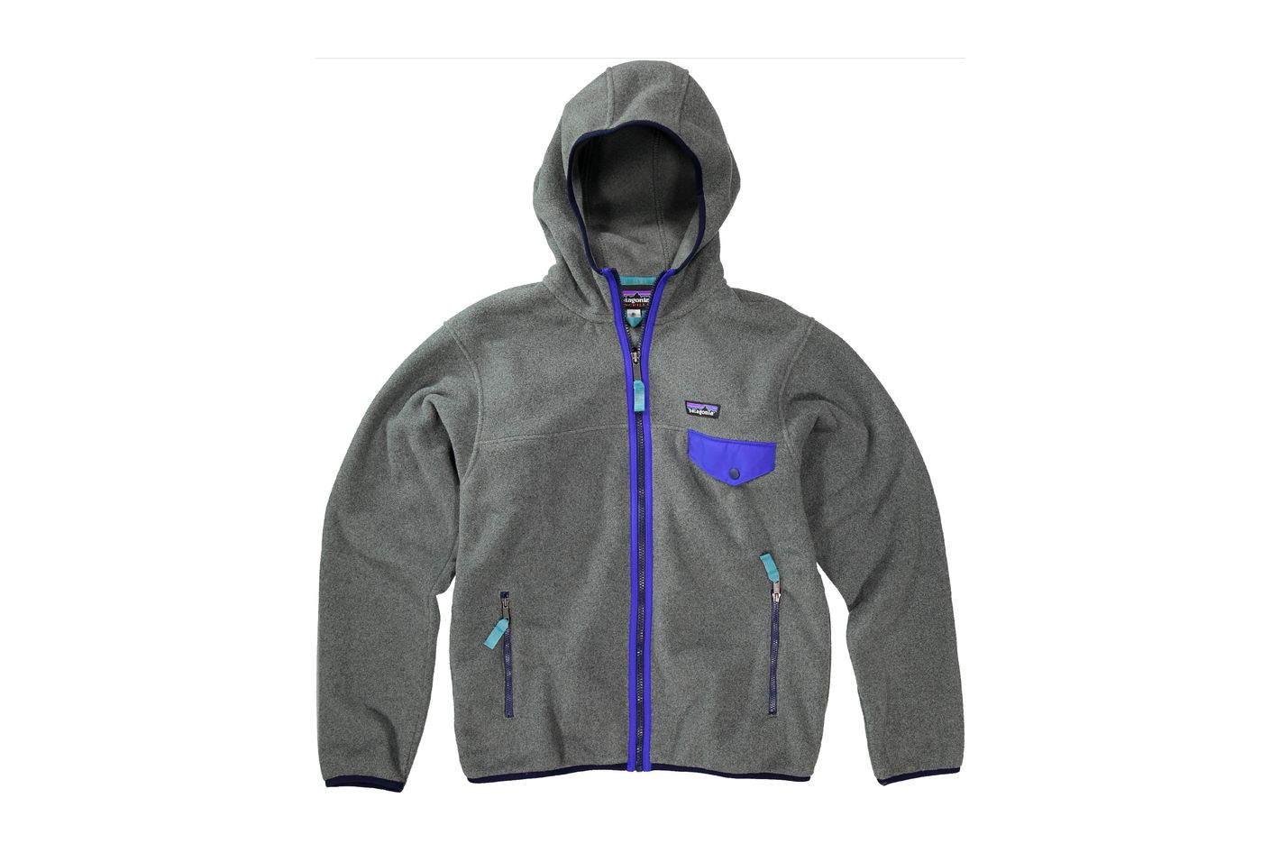 Patagonia Lightweight Synchilla Snap-T Hoodie in Nickel
