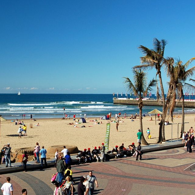 Curry Buffets, Sunny Beaches, and Africa's Oldest Botanic Gardens in Durban