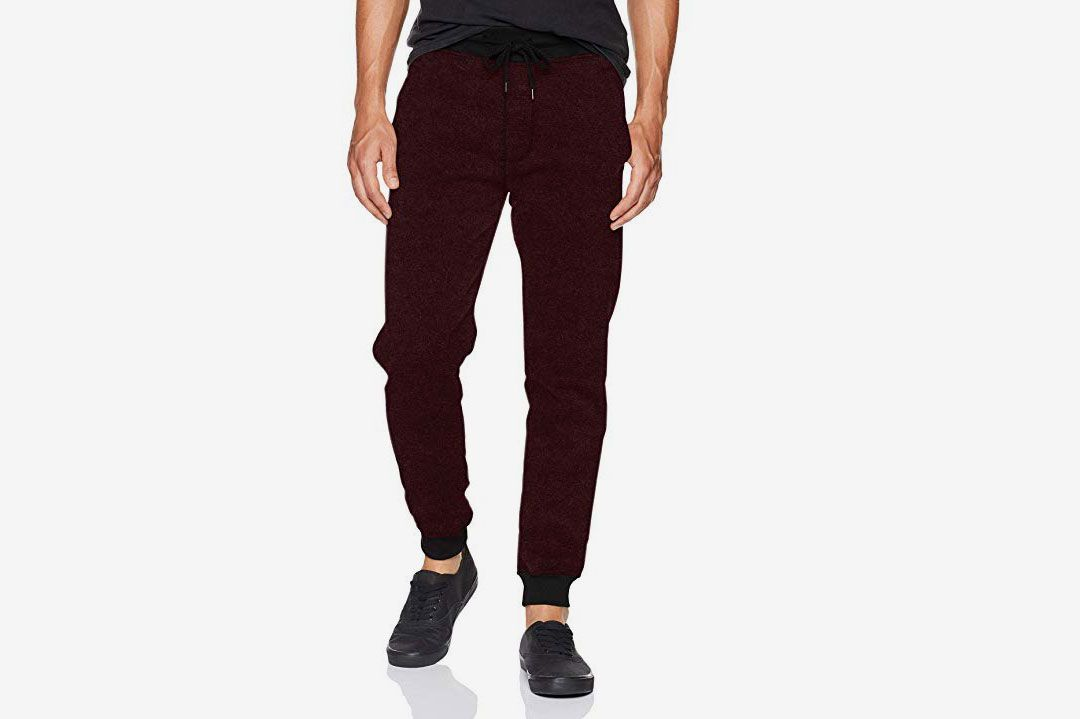 039cb27b29795e Southpole Men's Basic Fleece Marled Jogger Pant