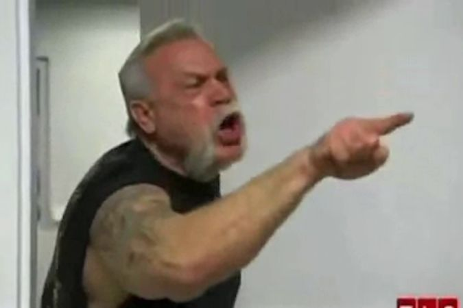 Why That 'American Chopper' Meme Is So Hard To Read