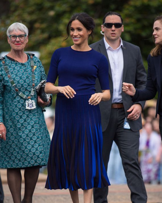 Meghan Markle in Givenchy.