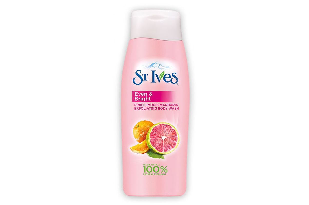 St. Ives Even and Bright Pink Lemon and Mandarin Orange Body Wash