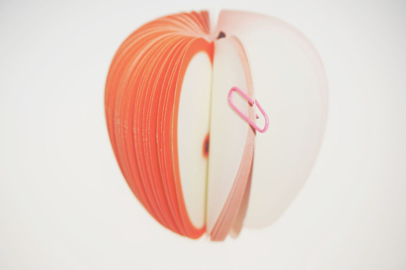 Bilipala Cute 3d Apple Shaped Sticky Paper Note