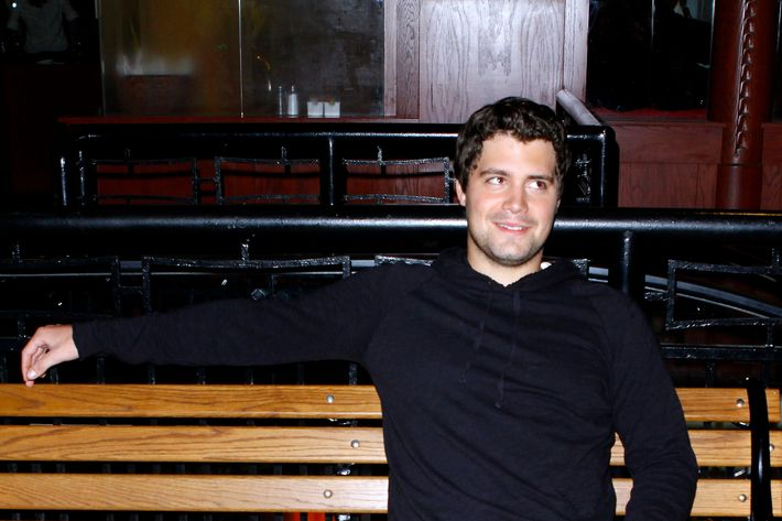 Levi Johnston visits Dave & Buster's Time Square on September 21, 2011 in New York City.