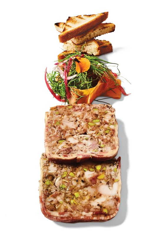 The Menu at the Indian-Influenced Tapestry Includes a Superb, Textbook Rabbit Terrine