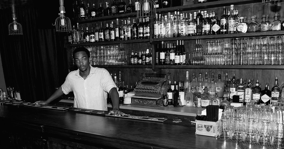Anthony Mackie Opening Second NoBar in Williamsburg