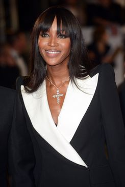 "Naomi Campbell attends the premiere of ""Skyfall"" at Royal Albert Hall."