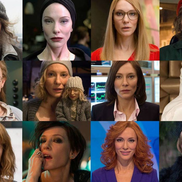 Cate Blanchett S Weirdest Movie Is 13 Characters On 12 Movie Screens In One Room