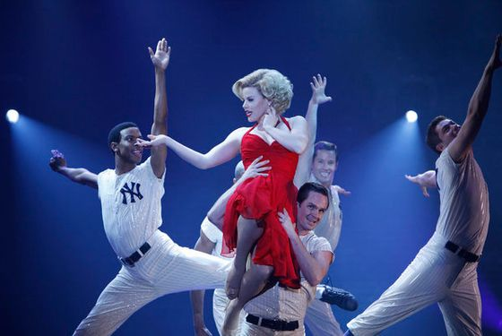 SMASH -- Pilot -- Pictured: (center) Megan Hilty as Ivy  Bell -- Photo by: Will Hart/NBC
