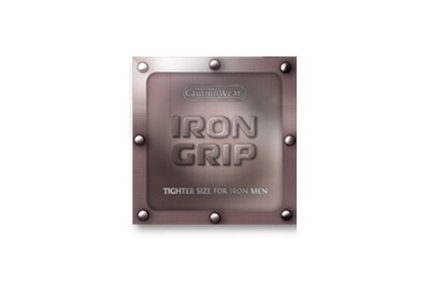 Caution Wear Iron Grip Snugger Fit: 12-Pack of Condoms
