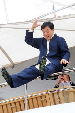 Jackie Chan's socks.