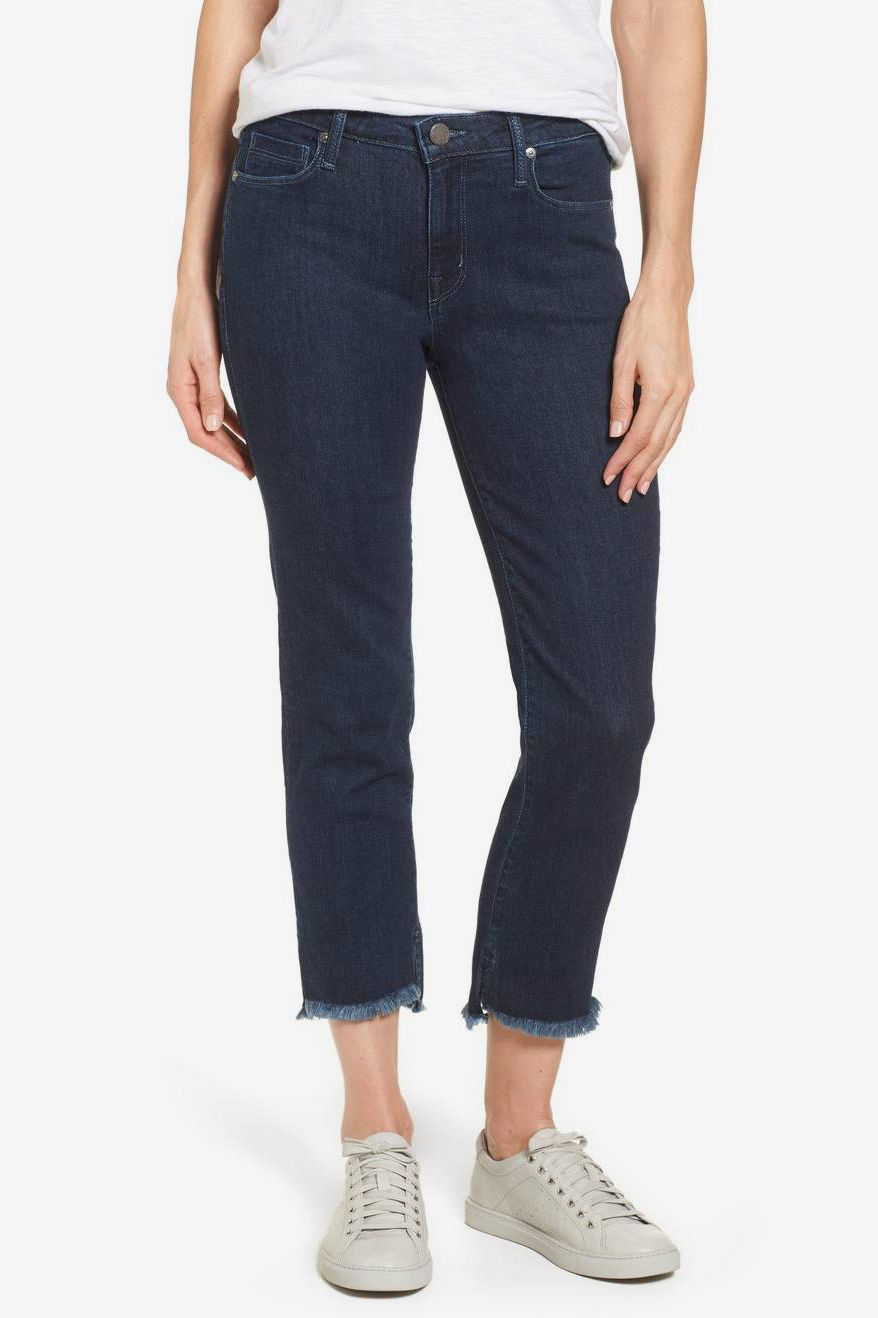 Parker Smith Step-Hem Jeans