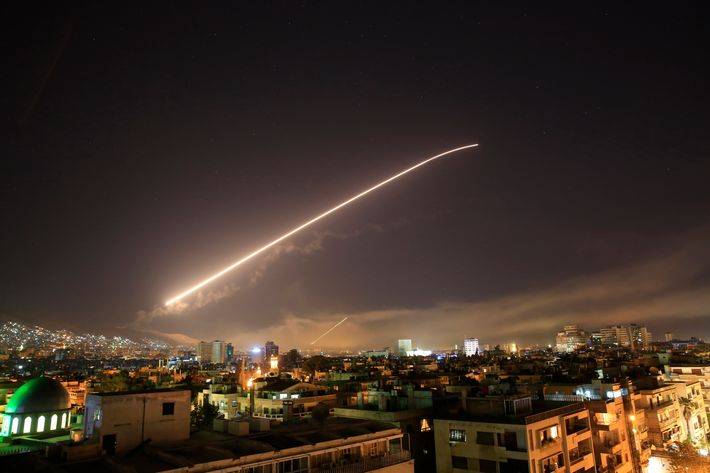 Image for The bombing of Syria