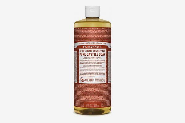 Dr. Bronner's Pure Castile Liquid Soap, Eucalyptus