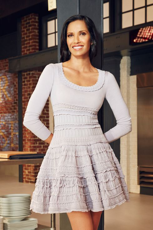 TOP CHEF -- Season:12 -- Pictured: Padma Lakshmi -- (Photo by: Tommy Garcia/Bravo)
