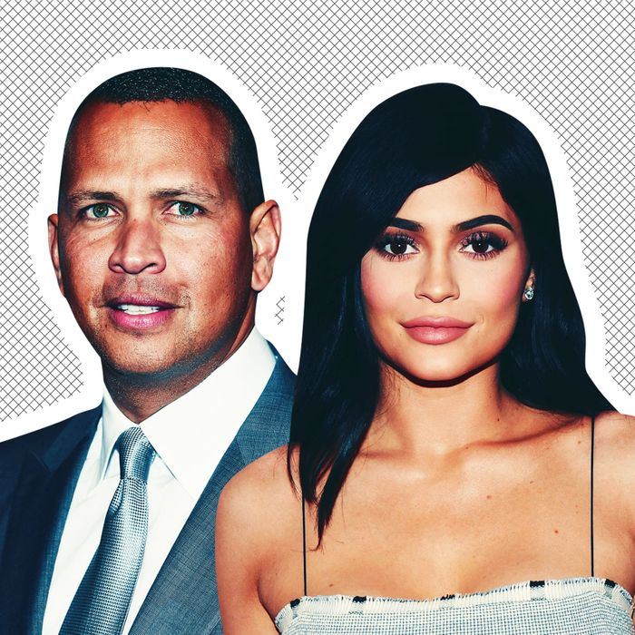 A-Rod and Kylie Jenner.
