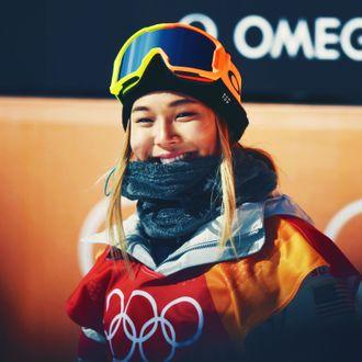Chloe Kim.