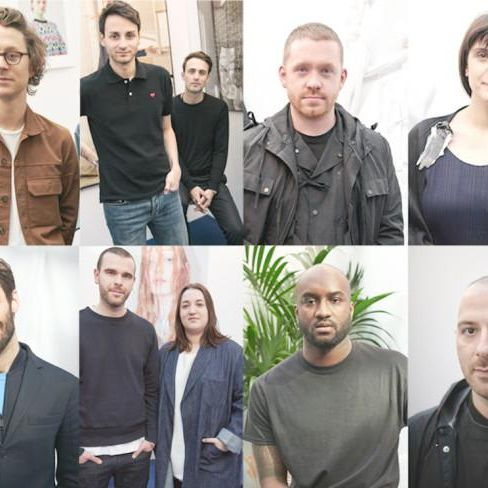 The LVMH Prize finalists.