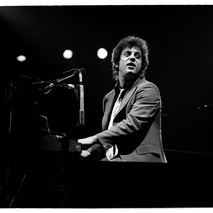 UNITED STATES - JANUARY 01: Billy Joel performs live on stage during his 1980 US tour