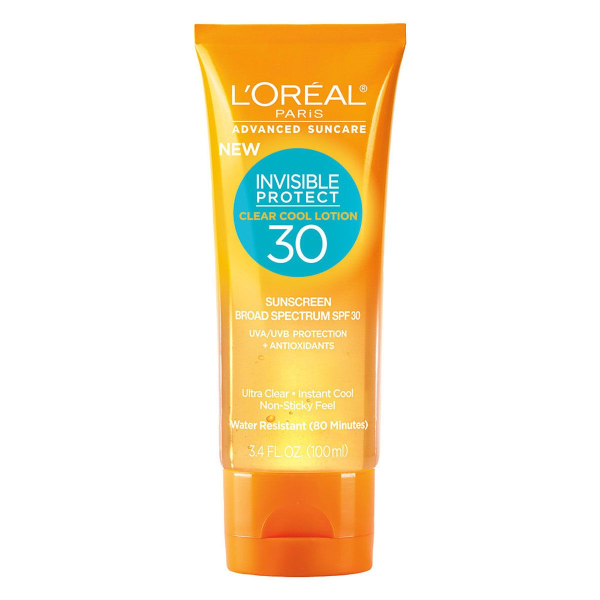 L'Oreal Paris Advanced Suncare Silky Sheer Lotion, SPF 30