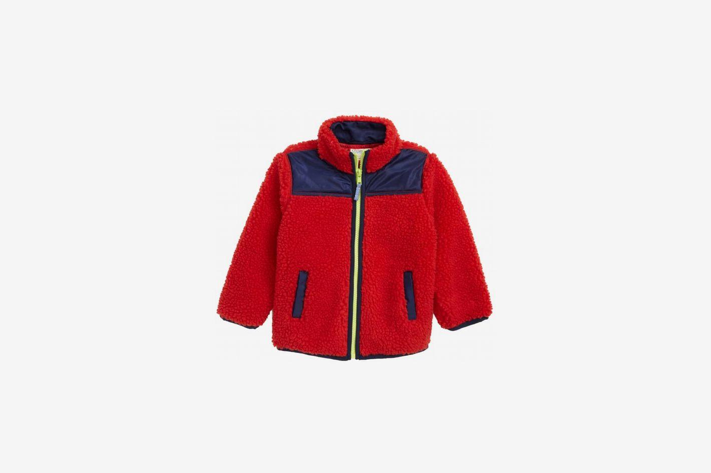 J. Crew Crewcuts Colorblock Fleece Jacket