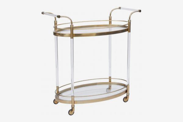 Mercer41 Schroeder Bar Cart