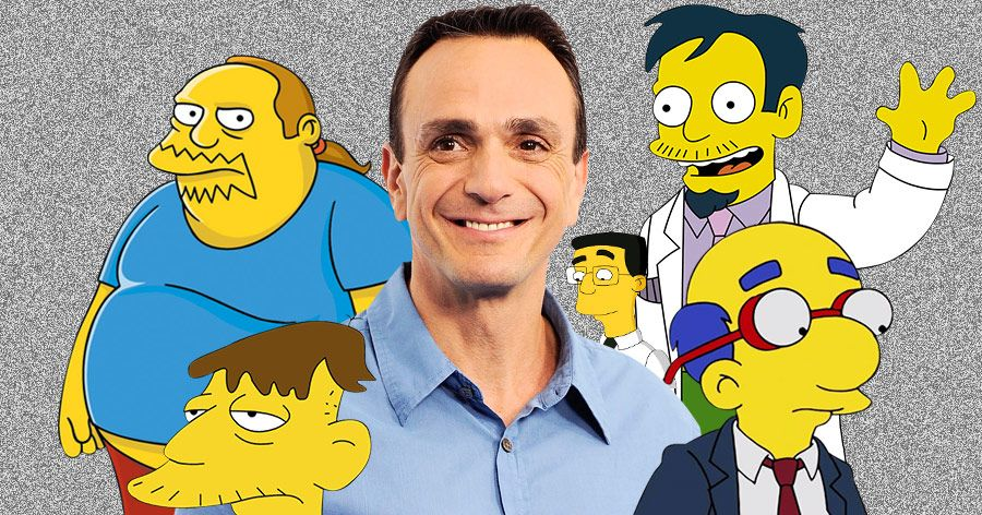 Hank Azaria and his Simpsons Chatacters