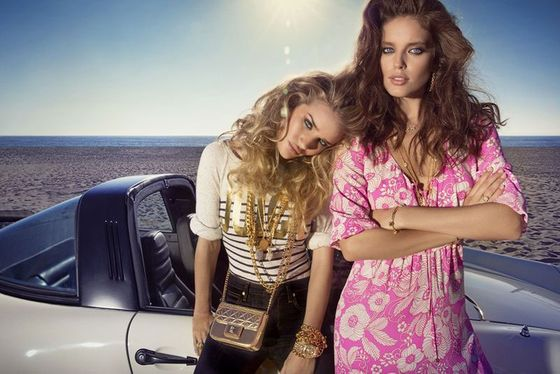 <b>Models:</b> Rosie Huntington-Whiteley and Emily DiDonato  <b>Photographers: </b>Inez van Lamsweerde and Vinoodh Matadin