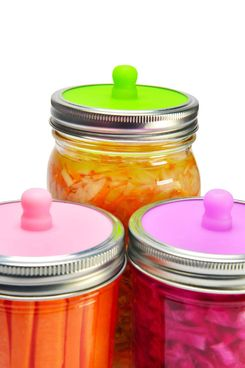 Fermentation Lids for Wide-Mouth Mason Jars
