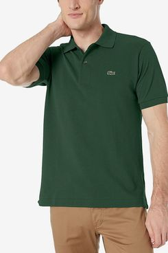 Lacoste Mens Short Sleeve Pique Polo Shirt