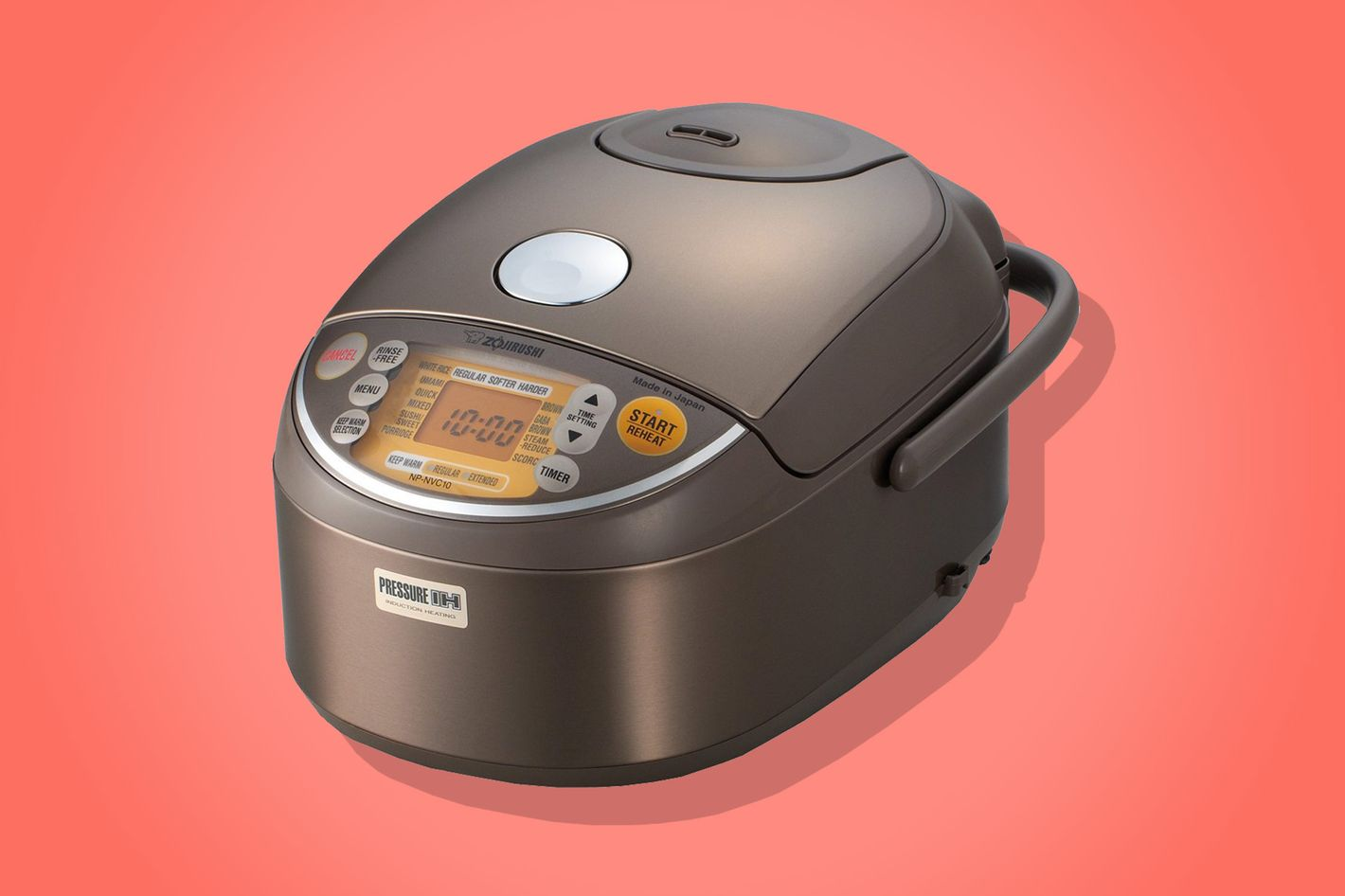 Zojirushi Induction Pressure Stainless Steel Rice Cooker