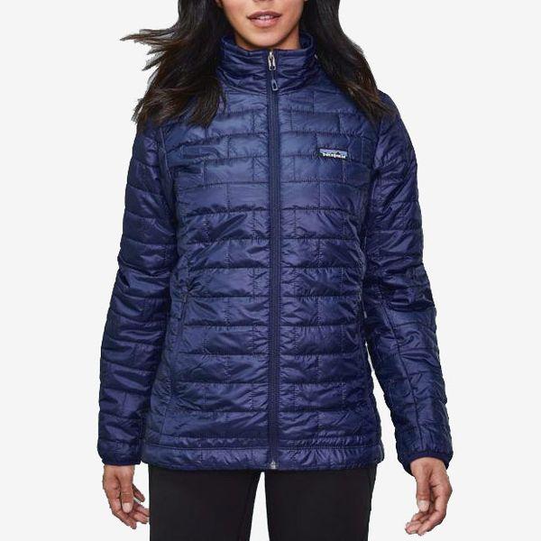 womens midnight nano puff patagonia jacket - strategist rei winter sale