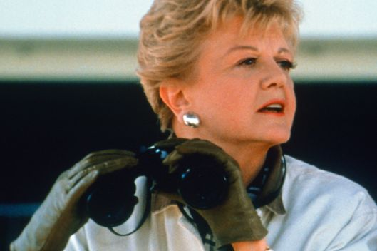 MURDER, SHE WROTE: SOUTH BY SOUTHWEST -- Pictured: Angela Lansbury as Jessica Fletcher -- (Photo by: Randy Marcus/NBC/NBCU Photo Bank)