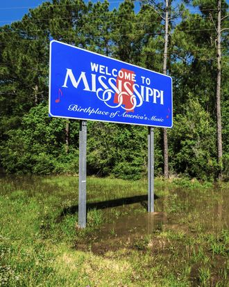 Mississippi state sign