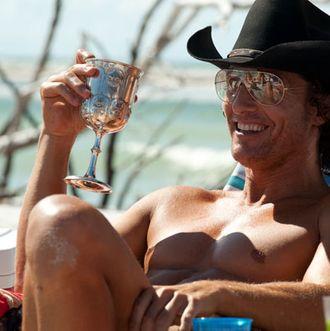 "MATTHEW McCONAUGHEY as Dallas in Warner Bros. Pictures' dramatic comedy ""MAGIC MIKE,"" a Warner Bros. Pictures release.Photo by Claudette Barius"