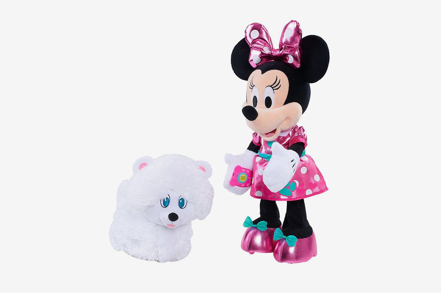 Disney Junior Minnie's Walk and Play Puppy