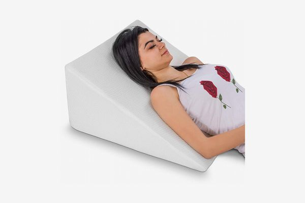 Abco Tech Bed Wedge Pillow With Memory-Foam Top
